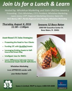 Florida- Lunch and Learn August 2016
